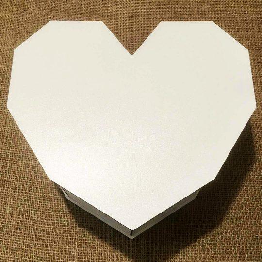 Подарочная коробка из дерева «Сердце» (арт. 50436)